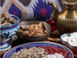 Ассорти из узбекских сладостей
